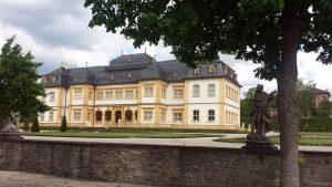Schloss Veitshöchheim am 20. Mai 2021
