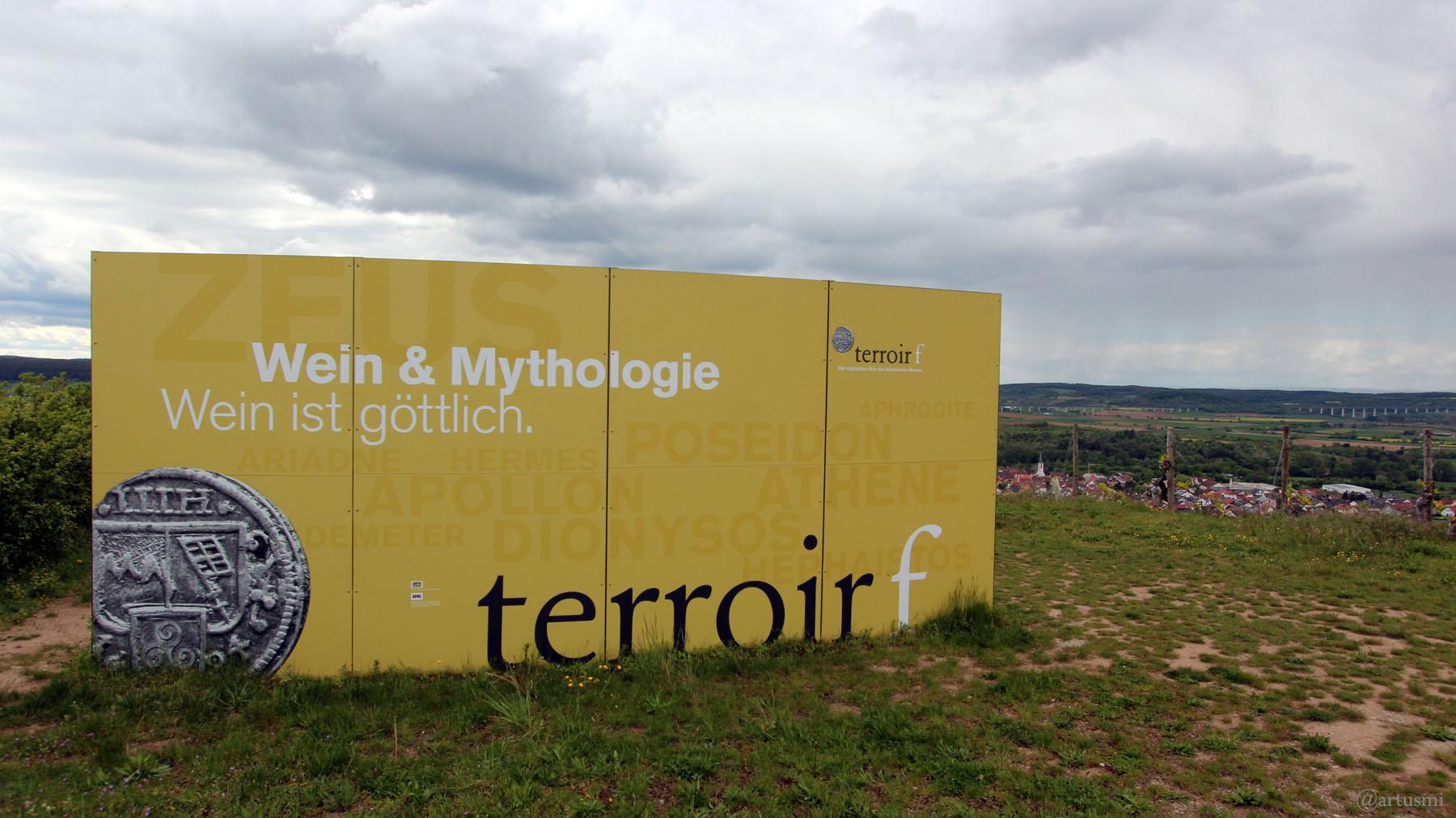 terroir f Thüngersheim - Wein & Mythologie