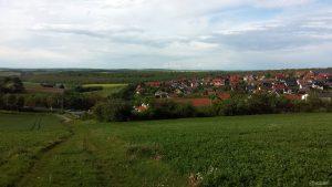 Wetterbild aus Eisingen vom 25. Mai 2021