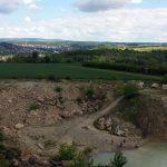 Steinbruch Bohleite in Goßmannsdorf am Main