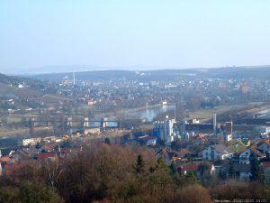 Goßmannsdorf und Ochsenfurt am Main