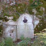 Gedenktafel an der Grotte in Goßmannsdorf am Main