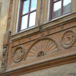 Altes Fachwerkhaus in der Zehnthofstraße gegenüber der Kreuzkapelle