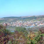 Blick vom Alten Berg auf Sommerhausen