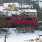 Haltestelle der Deutschen Bahn AG in Goßmannsdorf am Main Richtung Würzburg