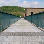 Schleuse Goßmannsdorf vor dem Bau einer Brücke