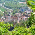 Blick vom Alten Berg auf Goßmannsdorf am Main