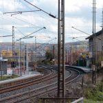 Haltestelle der Deutschen Bahn AG in Goßmannsdorf am Main
