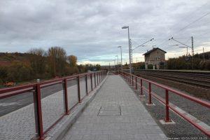 Baumaßnahmen in Zusammenhang mit der Umgehungsstraße in Goßmannsdorf am Main
