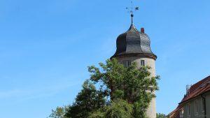 Weißer Turm in Marktbreit