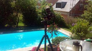 Canon EOS 600D auf Stativ