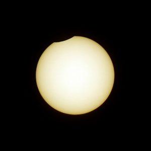Partielle Sonnenfinsternis am 10. Juni 2021