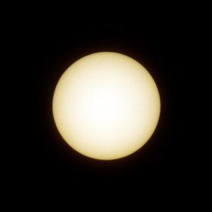 Ende der partiellen Sonnenfinsternis am 10. Juni 2021