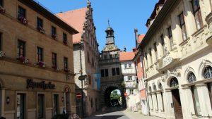 Rathaus und Maintor in Marktbreit
