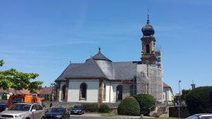 Kreuzkapelle von Balthasar Neumann in Kitzingen