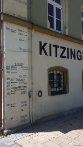Hochwasser-Höchststände in Kitzingen am Main