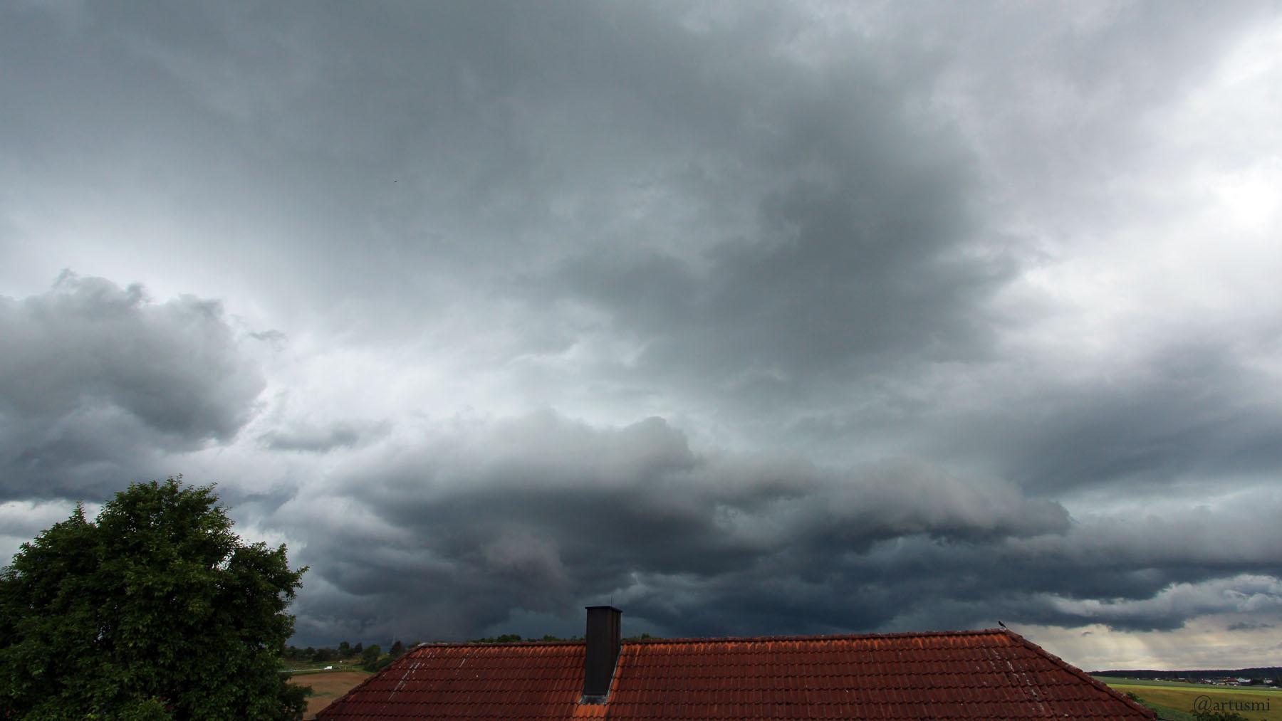 Wetterbild aus Eisingen vom 29. Juni 2021