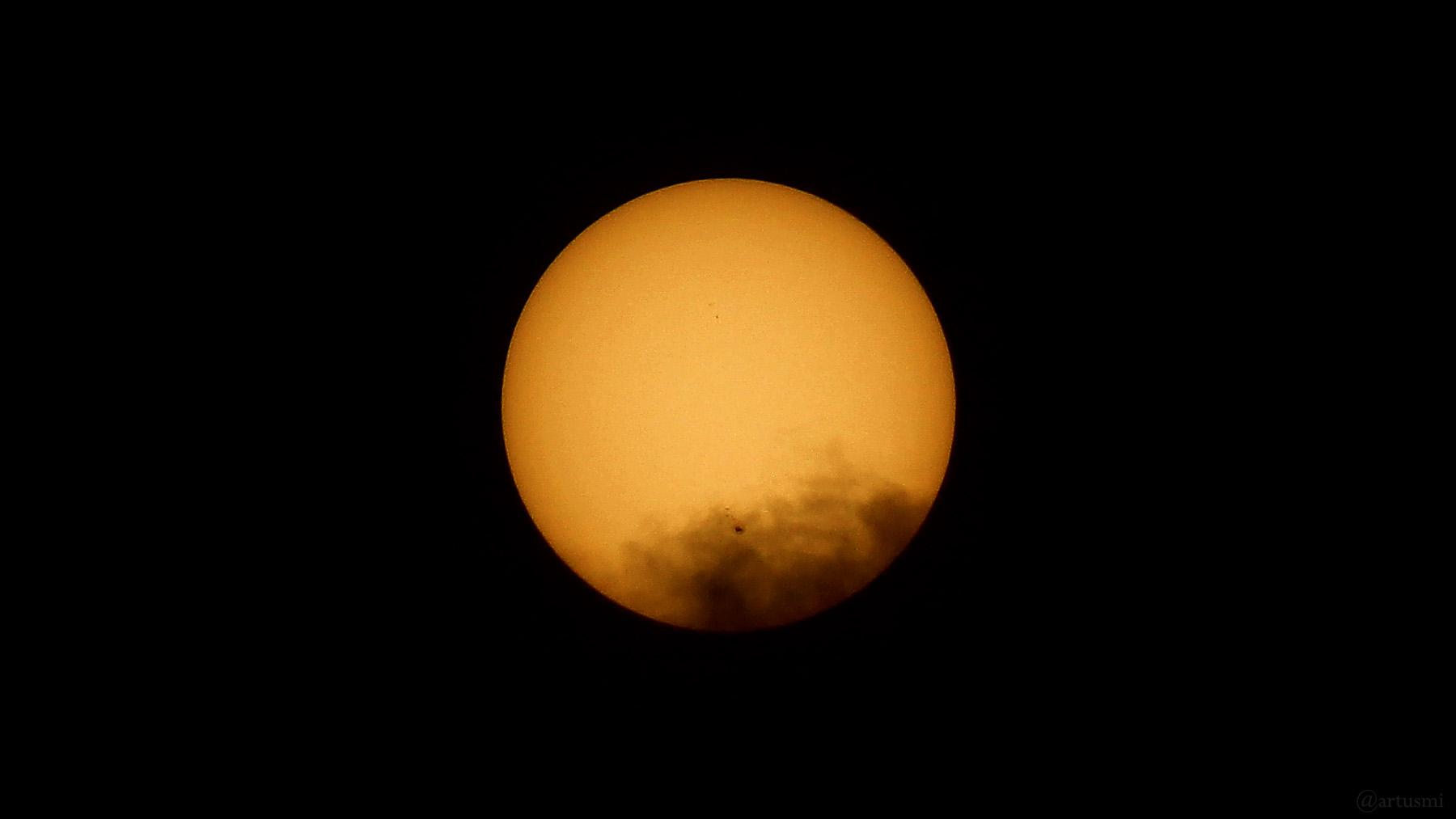 Die Sonne am 2. Juli 2021