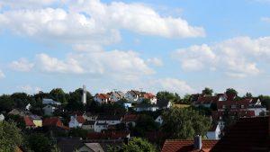 Wetterbild aus Eisingen am 2. Juli 2021