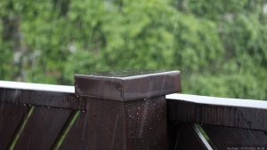 Starkregen in Mainfranken am 9. Juli 2021