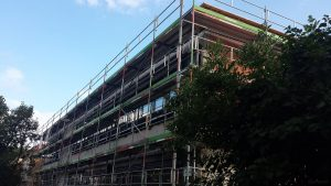 Neubau am Schulhaus in Eisingen am 9. Juli 2021