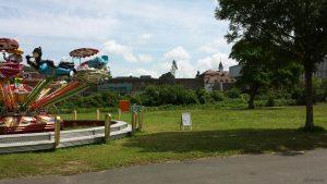 Kiliani-Sommergarten am 10. Juli 2021 auf den Mainwiesen in Würzburg