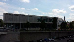 Congress Centrum Würzburg am 10. Juli 2021