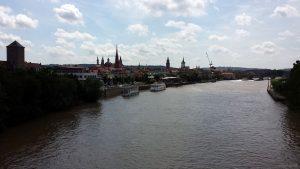 Würzburg am Main am 10. Juli 2021