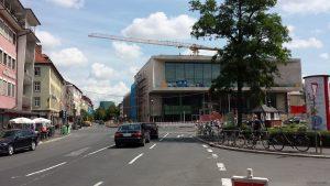 Stadttheater Würzburg am 10. Juli 2021