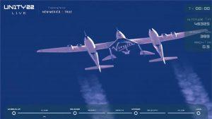 Virgin Galactic Unity22 Raumflug am 11. Juli 2021