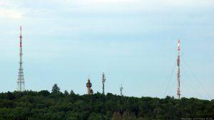 Blick vom Würzburger Schalksberg auf die Frankenwarte