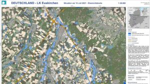 Hochwasserlage in Euskirchen