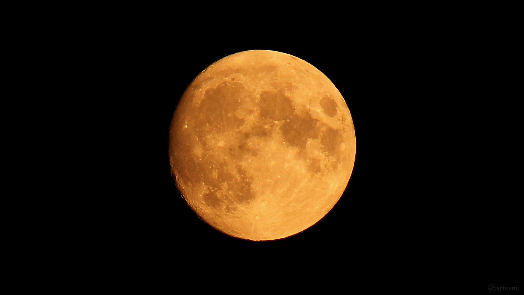 Zunehmender Mond am 22. Juli 2021 um 22:22 Uhr