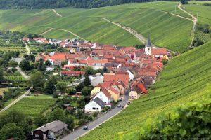 Escherndorf an der Volkacher Mainschleife