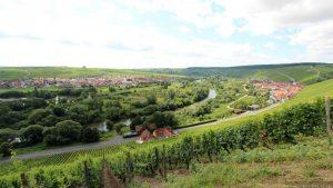 Nordheim und Escherndorf an der Volkacher Mainschleife