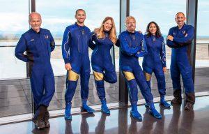 Virgin Galactic Unity22 Crew