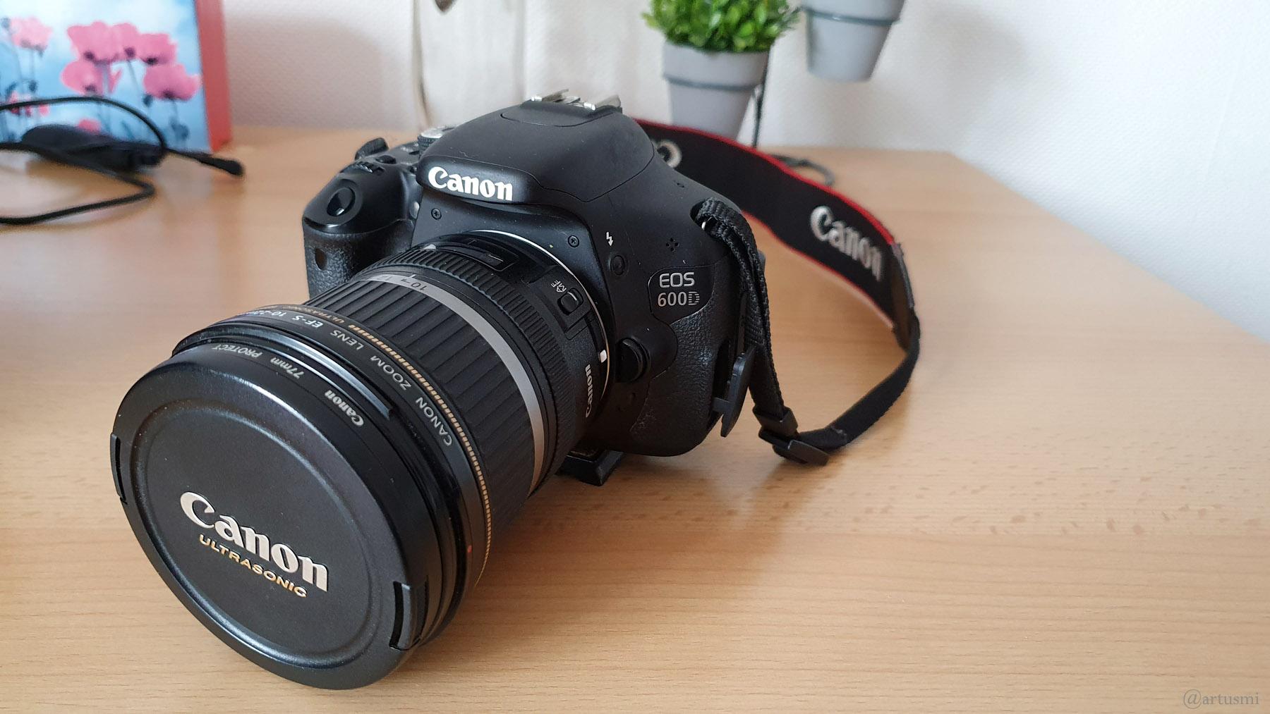 Seit 10 Jahren im Dauereinsatz - Canon EOS 600 D