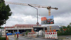 Neubau eines tegut Supermarktes in Höchberg