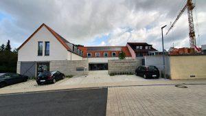 Dorfzentrum Eisingen am 23. August 2021