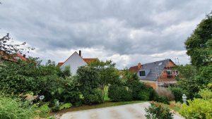 Wetterbild aus Eisingen vom 31. August 2021