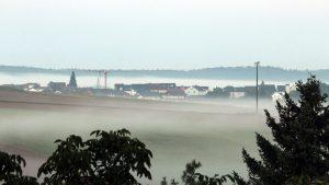 Nebel am 2. September 2021 in Waldbrunn