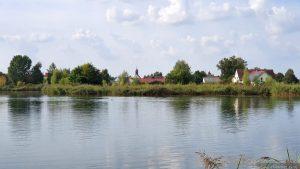 Badesee bei Hörblach im Landkreis Kitzingen
