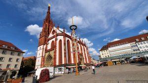 Marktplatz mit Marienkapelle in Würzburg