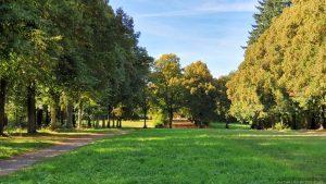 Schlosspark auf dem Schwanberg