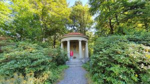 Mausoleum im Schlosspark auf dem Schwanberg
