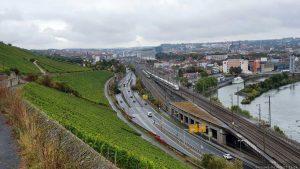 Blick vom Würzburger Stein auf Würzburg