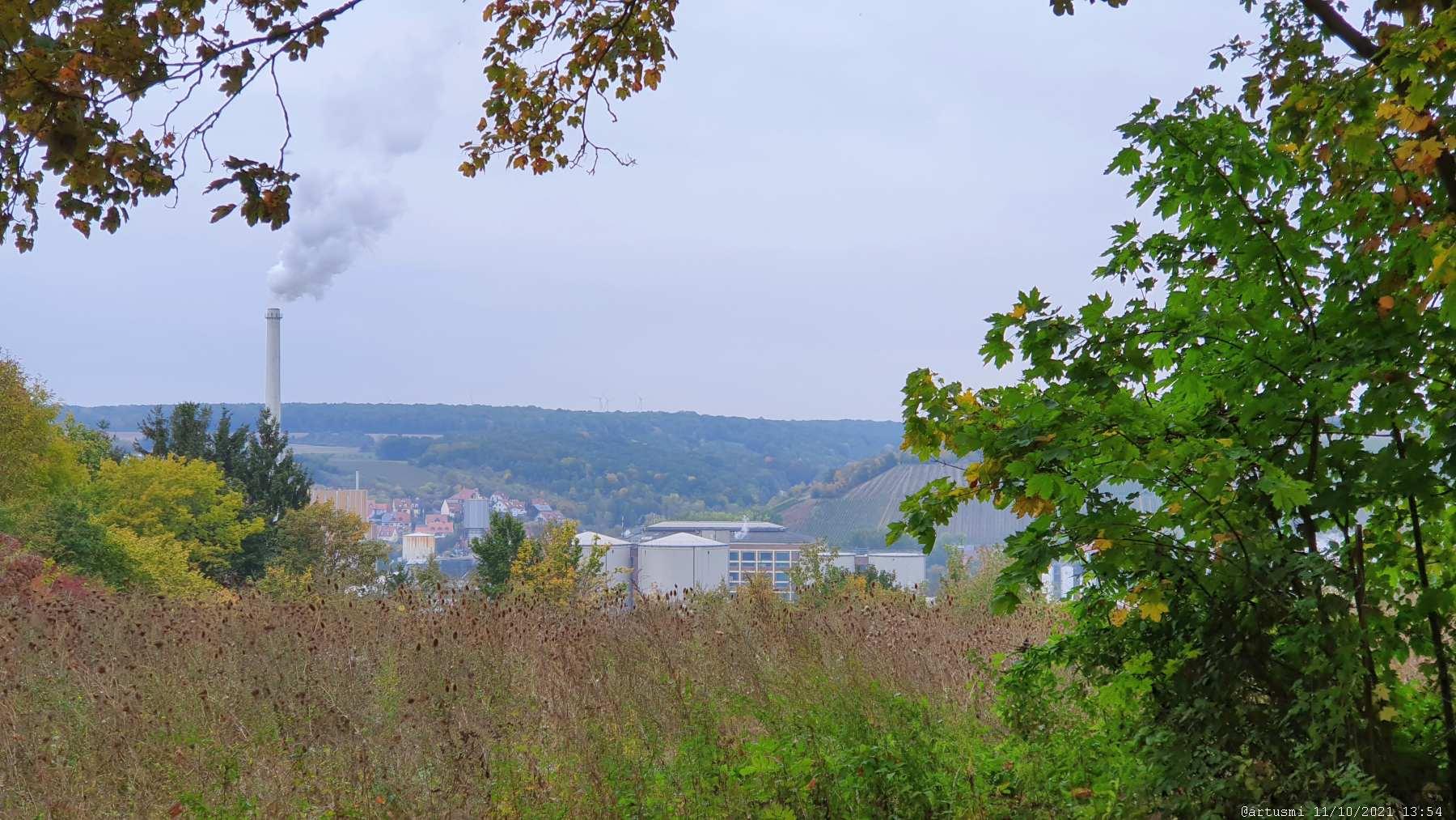 Zuckerfabrik in Ochsenfurt am Main