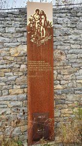 Stele an der Kapellensteige in Frickenhausen