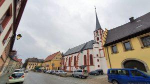 Ortsmitte von Frickenhausen am Main